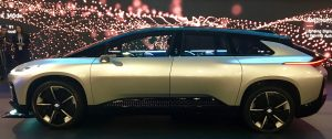 Faraday Future FF91 - A electric self driving super car looks to give Tesla competition. It's 0-60 time of 2.39 sec is impressive, but how autonomous if it makes it to mass production?